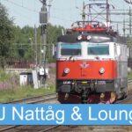 En resa med nattåg och besök på SJ Lounge