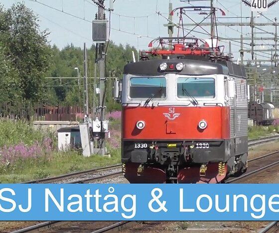 SJ Natttåg och lounge
