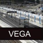 Invigning av pendeltågsstationen Vega