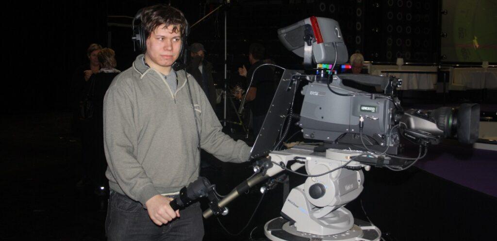 Alexander med Kamera