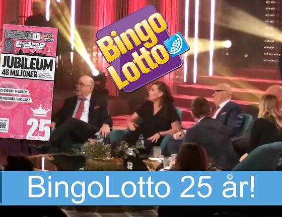 BingoLotto 25 år
