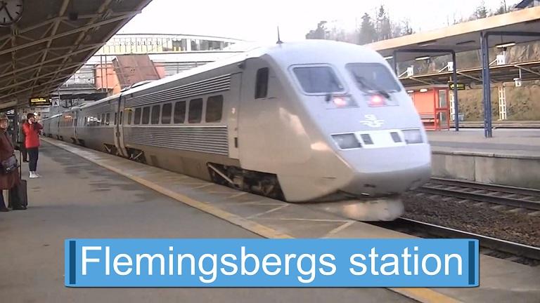 Flemingsbergs station