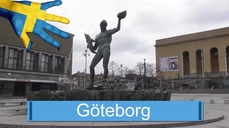 Göteborg i april 2017