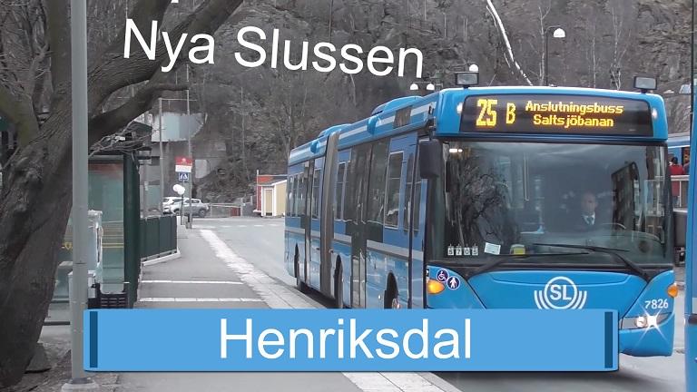 Nya Slussen - Henriksdal