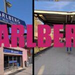 Pendeltågsstationen Karlberg under 2017