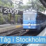 Tåg i Stockholm, 14 juni 2009