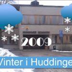 Vinter i Huddinge, 2009