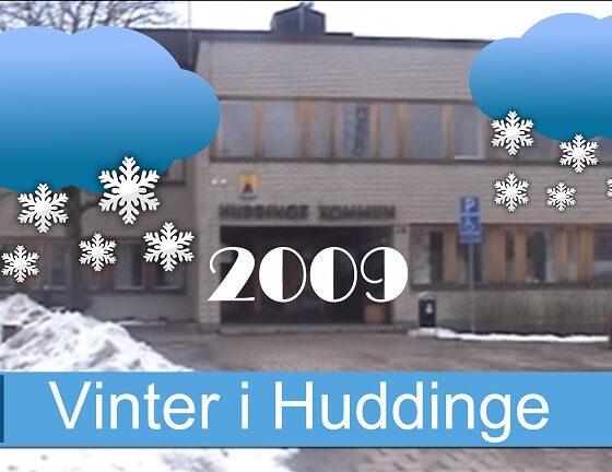 Vinter i Huddinge