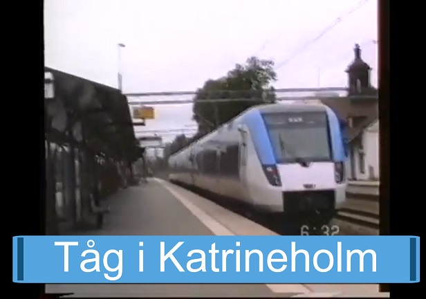 Tåg i Katrineholm