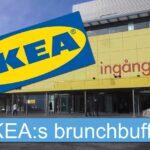 IKEA:s brunchbuffé