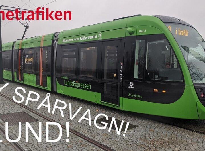 Spårvagn i Lund