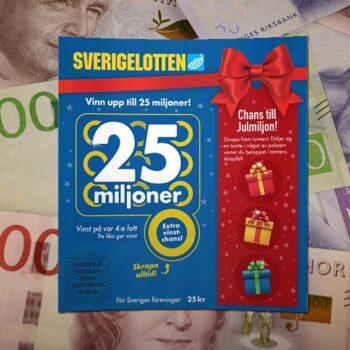 Sverigelotten jul