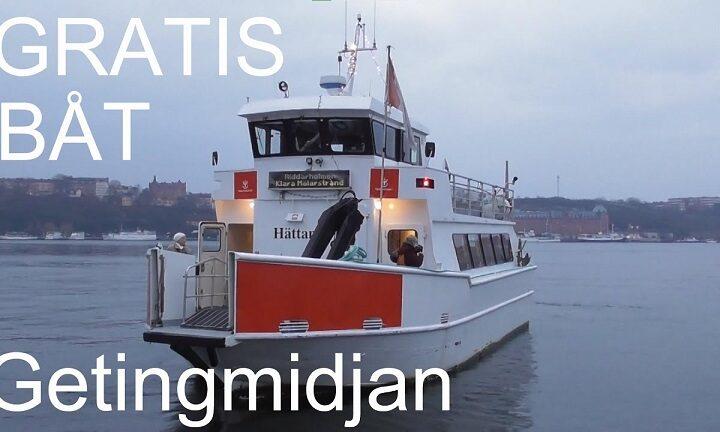 Gratis båt
