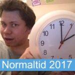 Normaltid 2017