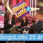 BingoLotto 25 år!