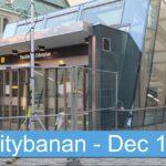 Citybanan – December 2016