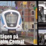 Pendeltågen på Stockholm Central