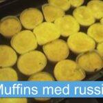 Muffins med russin