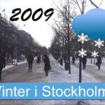 Vinter i Stockholm 2009
