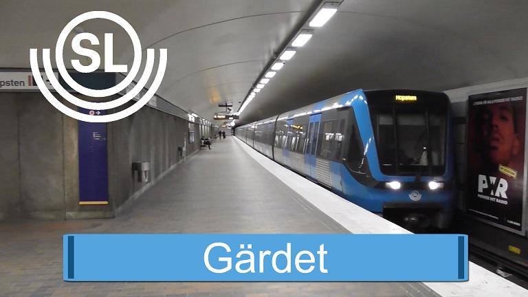 Gärdets tunnelbana