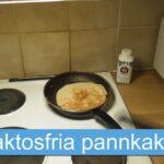 Recept: Laktosfria pannkakor